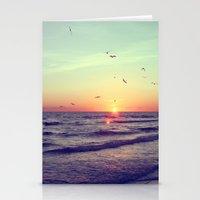 Siesta Key Sunset Stationery Cards