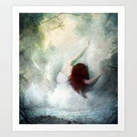 If Heaven Would Have Me Art Print
