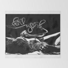 asc 601 - La semaine anglaise (Hell Yeah!) Throw Blanket
