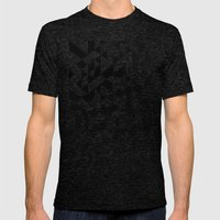 Triangles 4B Mens Fitted Tee Tri-Black SMALL