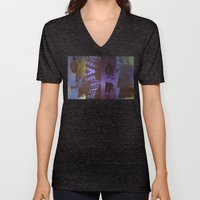 DropArt collage Unisex V-Neck
