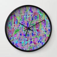The Polaroad Project Wall Clock