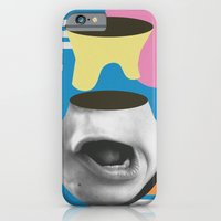iPhone & iPod Case featuring Pescuza by Wilmer Murillo