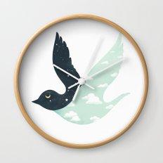 Bipolar Bird Wall Clock