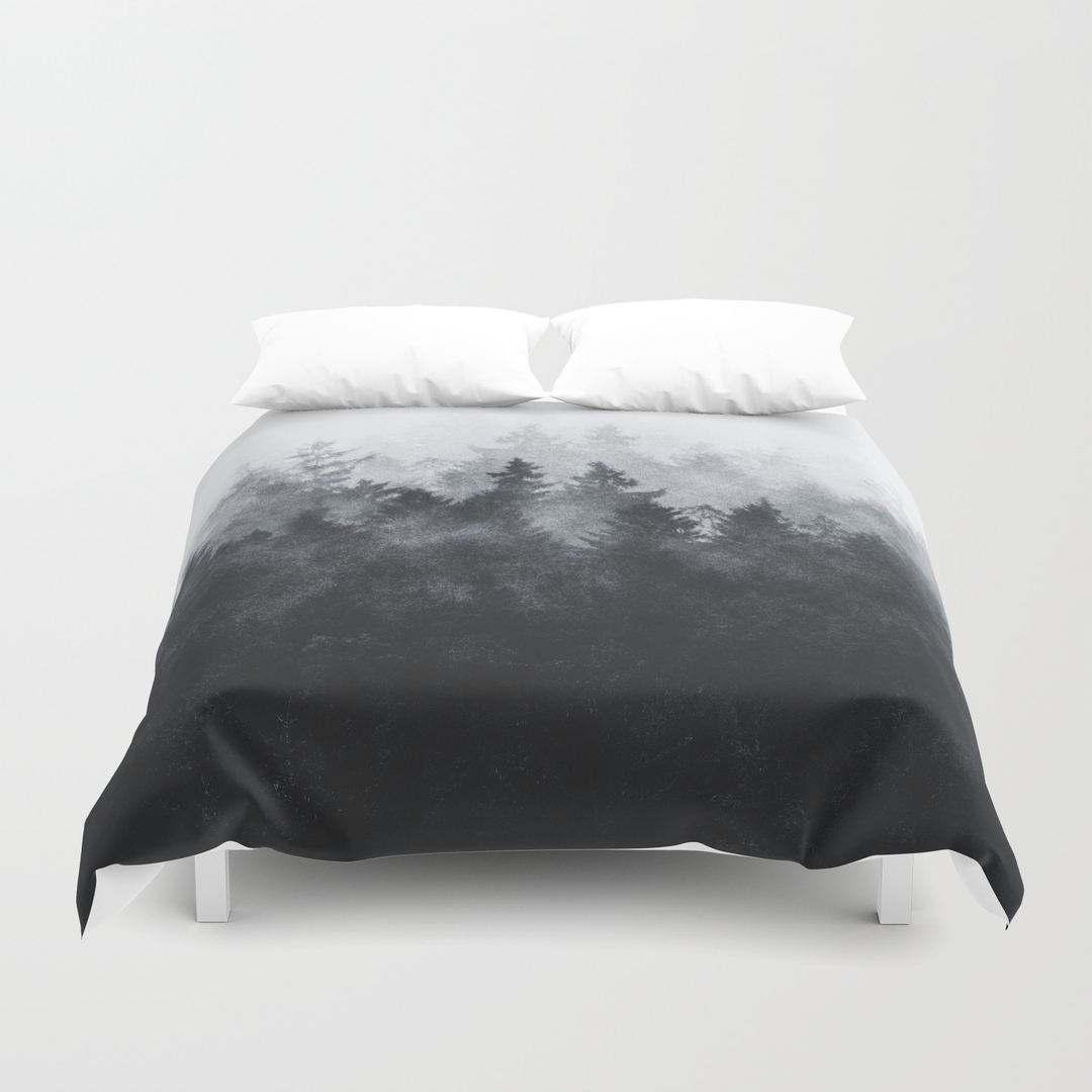 Black White Duvet Covers Society6