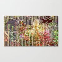 The Relative Frequency O… Canvas Print