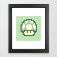 Mushy 2 Framed Art Print