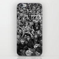 Mass hysteria iPhone & iPod Skin