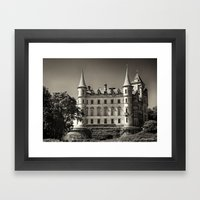 Dunrobin Castle Scotland Framed Art Print