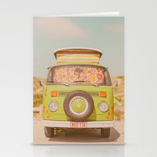 let's ride through europe Stationery Card