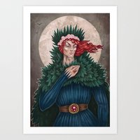 Bury Me in Willow Art Print