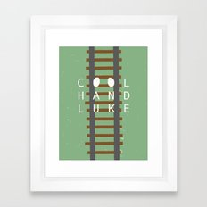 Cool Hand Luke Framed Art Print