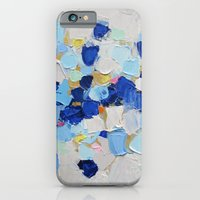 iPhone Cases featuring Amoebic Party No. 2 by Ann Marie Coolick