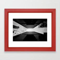 NYC can be dizzying sometimes Framed Art Print