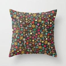 daffodil pop Throw Pillow