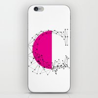 C (abstract geometrical type) iPhone & iPod Skin