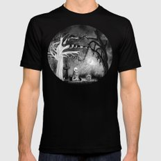 rest in expectation SMALL Mens Fitted Tee Black