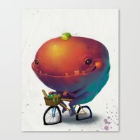 Bike Monster 2 Canvas Print