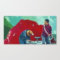 Return to Ruby Mountain Canvas Print