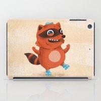Rollerblade Raccoon iPad Case