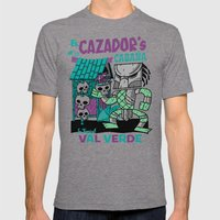 El Cazador's Cabana (ope… Mens Fitted Tee Tri-Grey SMALL