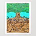 Family Roots Art Print
