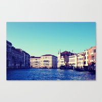 Memories from Venice 2 Canvas Print