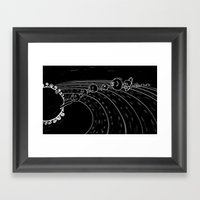 solar power I Framed Art Print