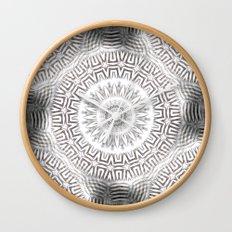 METAL Element Kaleido Pattern Wall Clock
