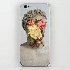 Bust With Flowers iPhone & iPod Skin