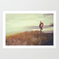 The Last Day of Summer Art Print