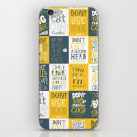 Major Taylor Grid iPhone & iPod Skin