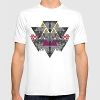 Galaxy trance  Mens Fitted Tee White SMALL