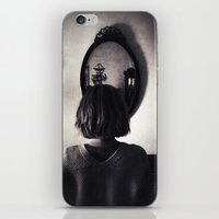 Face to Place iPhone & iPod Skin