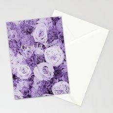 Bouquet*C'est la vie Stationery Cards