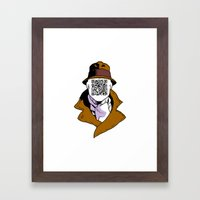 Inkman Framed Art Print