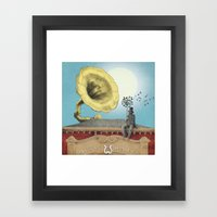 The Music Hall Framed Art Print