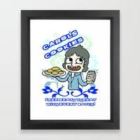 carol's cookies Framed Art Print