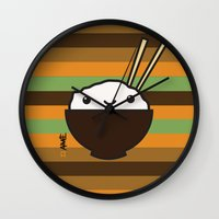 Ricebowl Wall Clock