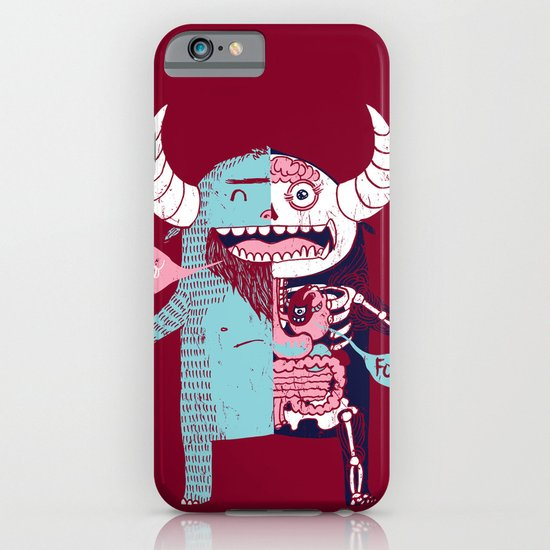 All Monsters are the Same iPhone & iPod Case
