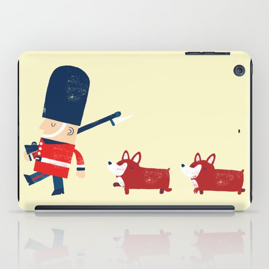 Her Majesty's guards iPad Case