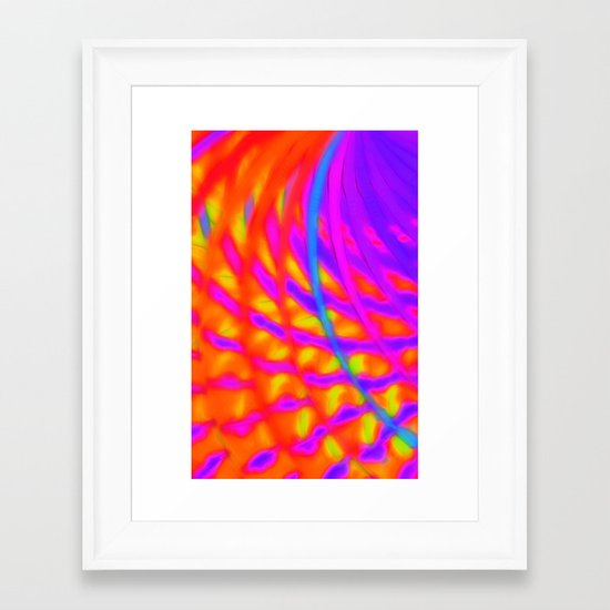 Venus is Hot This Time of Year Framed Art Print
