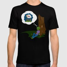 The Dead Do Dream Mens Fitted Tee Black SMALL