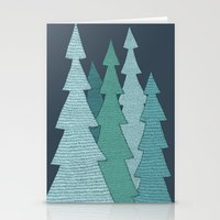 Pines Stationery Cards