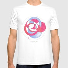 Cirque-cle #1 White SMALL Mens Fitted Tee