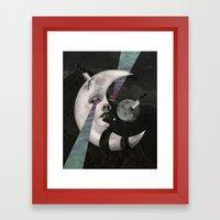 Moonsaw  Framed Art Print