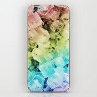 ICE CUBES iPhone & iPod Skin