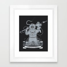 Ghost Of Nemo Framed Art Print
