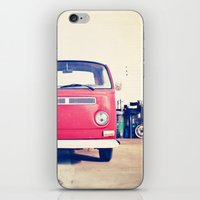 Vintage Volkswagen Bus iPhone & iPod Skin