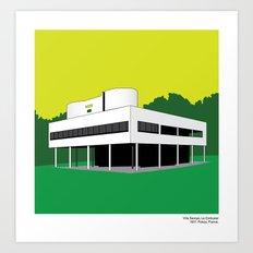 Villa Savoye, Le Corbusi… Art Print